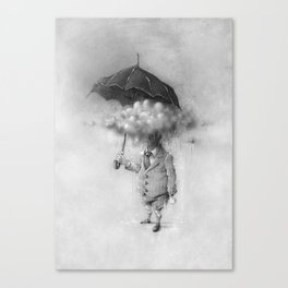 SUPA CLOUD BOY Canvas Print