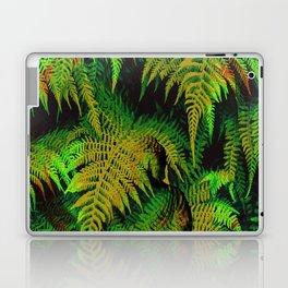 Camouflage Hidden Buddha in Ferns Laptop & iPad Skin
