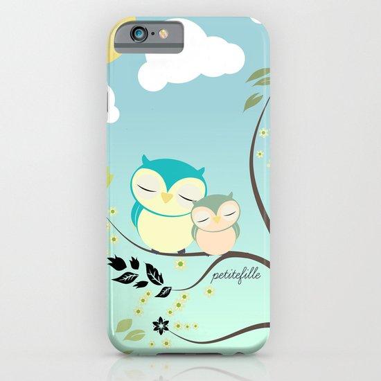 Sleeping Owls iPhone & iPod Case