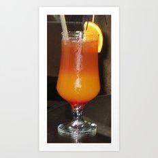 tasty cocktail Art Print