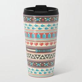 Fair-Hyle Knit Metal Travel Mug