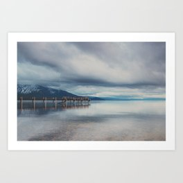 reflections in the water ...  Art Print