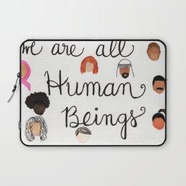 Human Beings 2 Laptop Sleeve