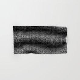 The Binary Code DOS version Hand & Bath Towel
