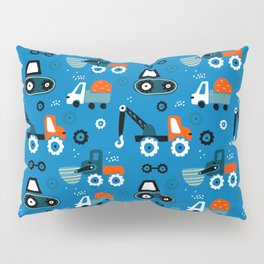 Toys cars patterns Pillow Sham
