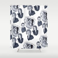 ripley Shower Curtains featuring Ripley by scoobtoobins