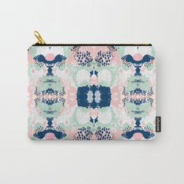 Kimmie - abstract painting modern hipster trendy urban city painterly boho home college dorm decor  Carry-All Pouch