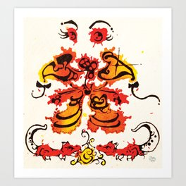 Abstract#2 Art Print