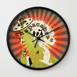 Chupacabras Wall Clock