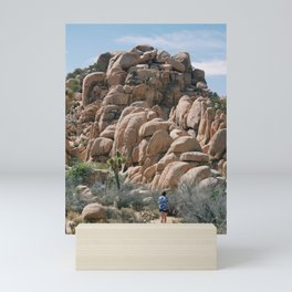 Towards the rocks Mini Art Print