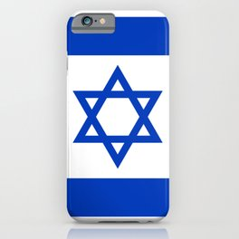 Flag of Israel iPhone Case
