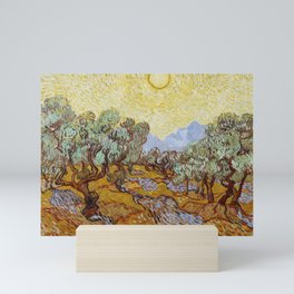 Vincent Van Gogh Olive Trees Mini Art Print