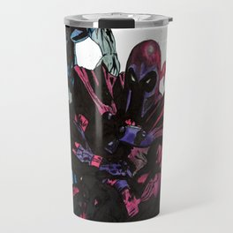 Magneto, Quicksilver, Scarlet Witch Travel Mug