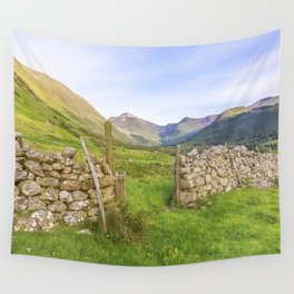 Ben Nevis Mountain Range Wall Tapestry