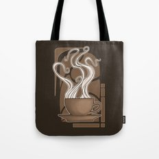 Coffee Nouveau Tote Bag