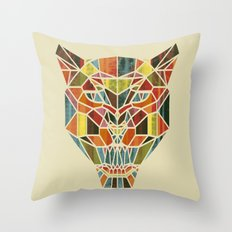 Holy Cat Throw Pillow