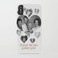 golden girls iPhone & iPod Cases featuring The Golden Girls by BeeJL