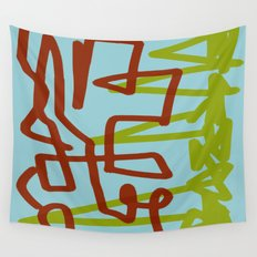 spearheads Wall Tapestry