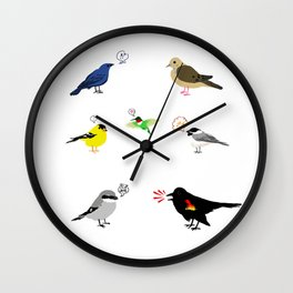Birds of Ontario Wall Clock