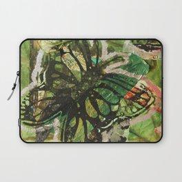 Green Butterflies  Laptop Sleeve