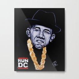 Run DC Metal Print
