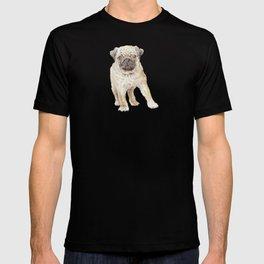 Watercolor Pug Puppy T-shirt