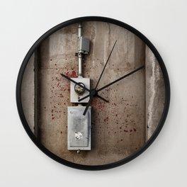 Blood Box Wall Clock
