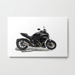 Ducati Diavel 2013 Metal Print