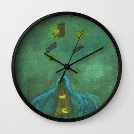 Homeless Wall Clock
