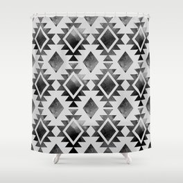 Ethnic Pattern Shower Curtain