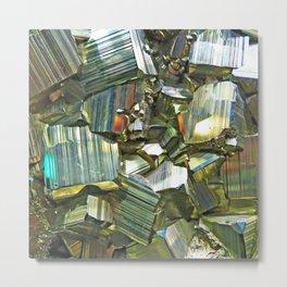 Pyrite Metal Print