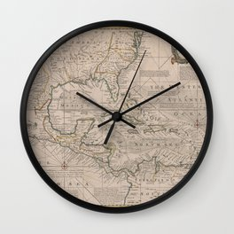 West Indies 1720 Wall Clock