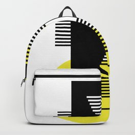 Pacman Geometrie Optik Backpack