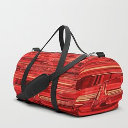 Speed Demon / Abstract 3D render of glass and metal Duffle Bag