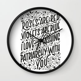 Smashing Patriarchy Wall Clock