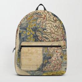 Chŏlla-namdo & Chŏlla-pukto Chŏndo, Korea Map (c 1800) Backpack