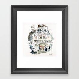 Hotel Monteleone Framed Art Print