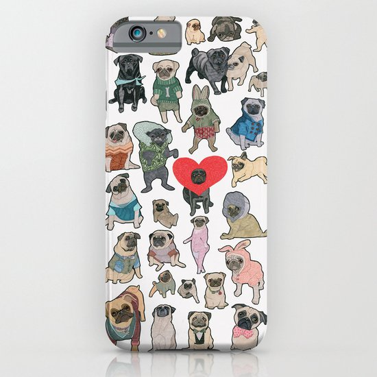 Pugs iPhone & iPod Case