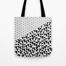 Hexagon(black) #2 Tote Bag