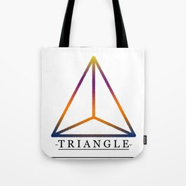 T R I A N G L E Tote Bag