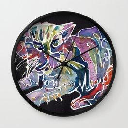 Magic Cat Wall Clock