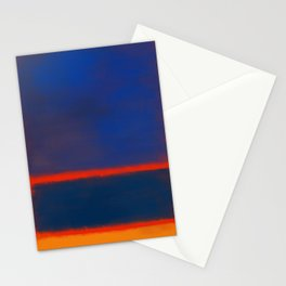 Rothko Inspired #7 Stationery Cards