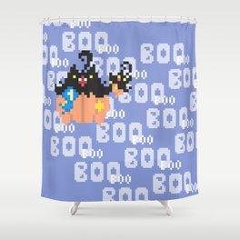 Blue Ribbon Pumpkaboo Shower Curtain