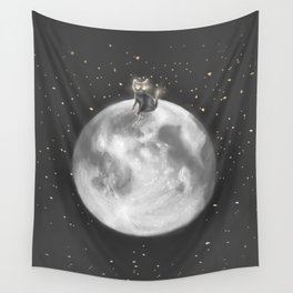 Lost in a Space / Moonelsh Wall Tapestry