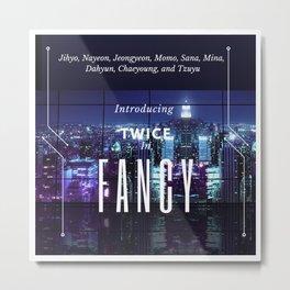 introducing: fancy Metal Print