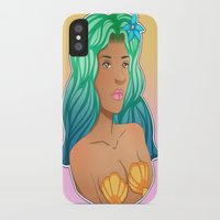 coco iPhone & iPod Cases featuring Coco by adorkible