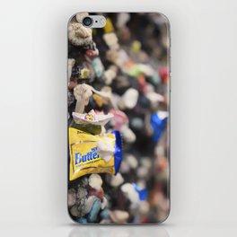 A Cool Gross Bubblegum Alley San Luis Obispo iPhone Skin