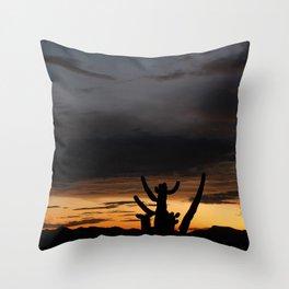 Tucson Twilight II Throw Pillow