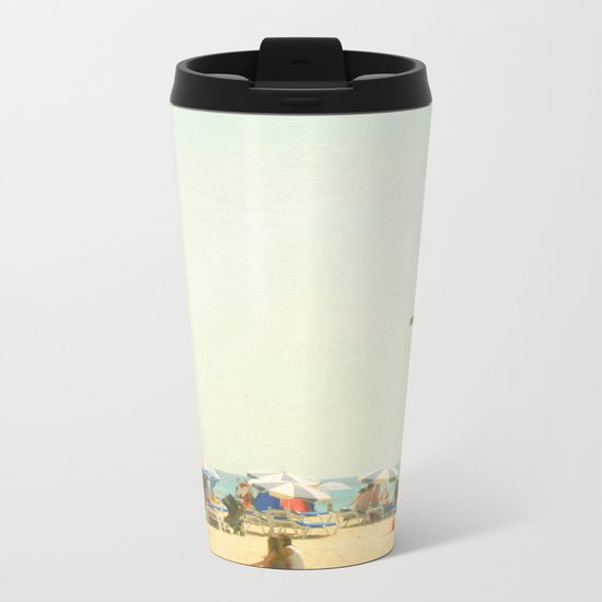 Beach Days Metal Travel Mug