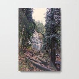 Autumn Falls Metal Print